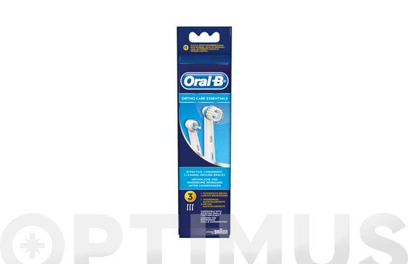 Cepillo dental recambio oral-b ortho kit