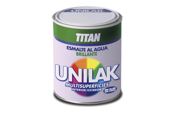 Esmalte unilak brillante 750 ml blanco brillo