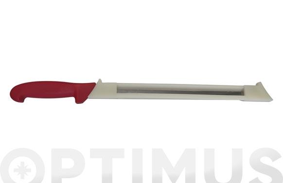 Cuchillo jamonero con proteccion 44cm