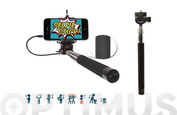 Palo extensible selfie automatico cm2618a negro