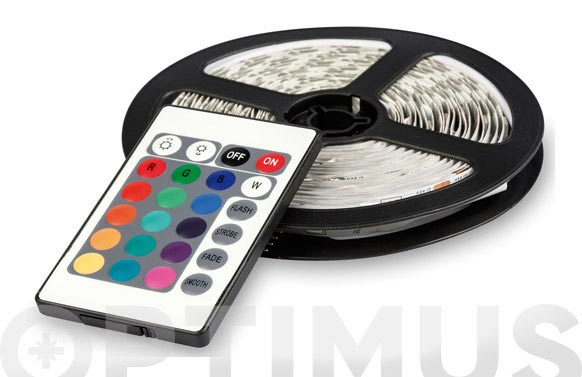 Tira led color 3 m luz rgb-16 colores