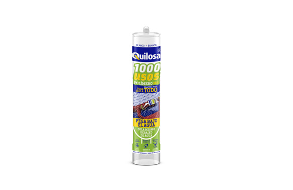 Adhesivo sellador ms 1000 usos 280 ml blanco