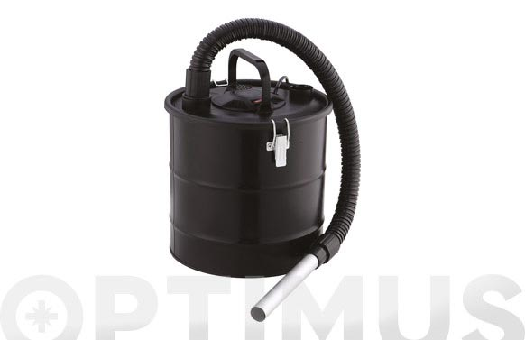 Aspirador cenizas 1200 w 18 litros tubo: 120 cm