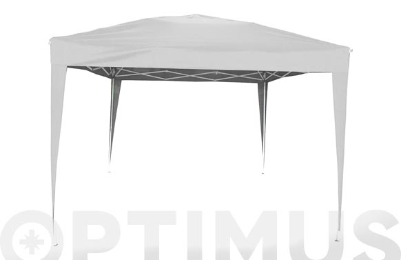 Carpa plegable aluminio 3x3 m blanco