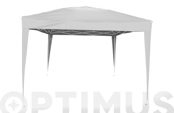 Carpa plegable aluminio 3x3 m blanco
