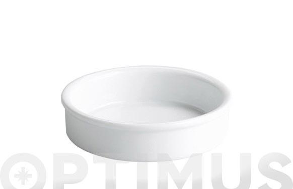 Tarrina porcelana crema catalana d.12x3cm