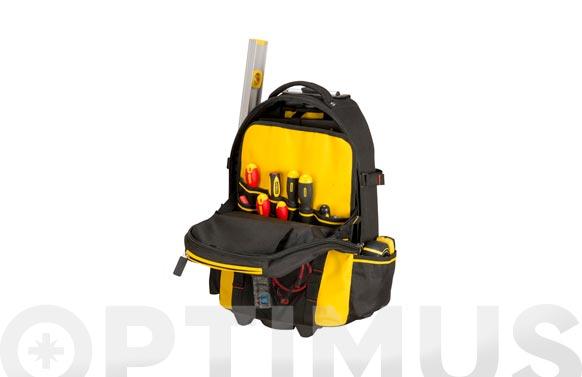 Mochila con ruedas fat max 540x360x230 mm