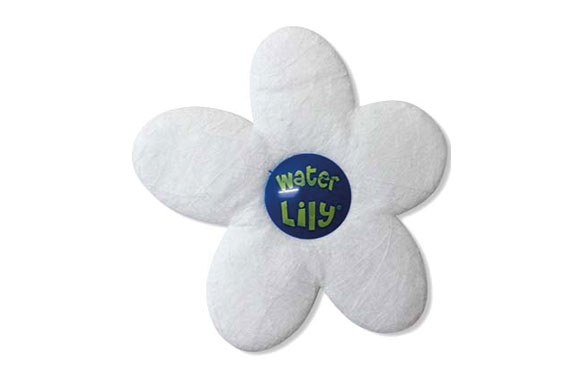 Absorbente grasa agua piscina 6 uds water lily