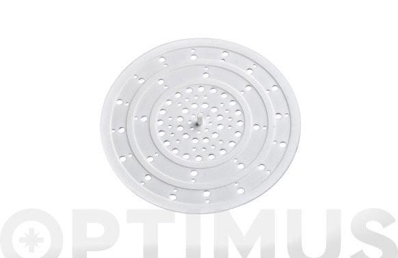 Colador de desagüe silikon ø12 cm
