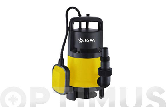 Bomba sumergible aguas sucias 750 w 13 000l/h - vigila 750 as