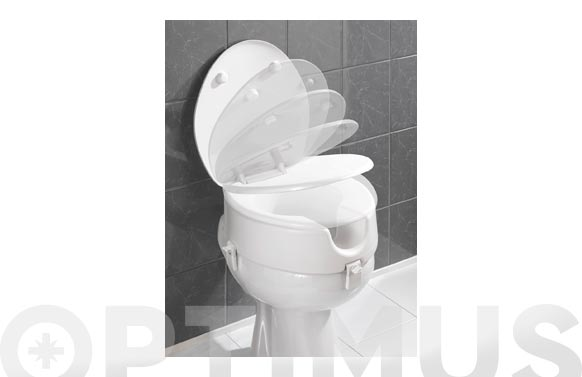 Alzador wc con tapa 20 cm