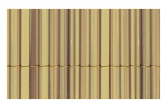 Cañizo sintetico caña fina y entera bambu 1 x 5 m