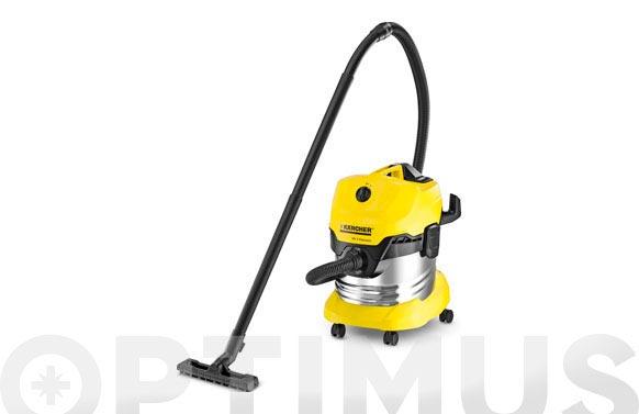 Aspirador solidos liquidos inox wd4 premium 20 l 1000/1600 w