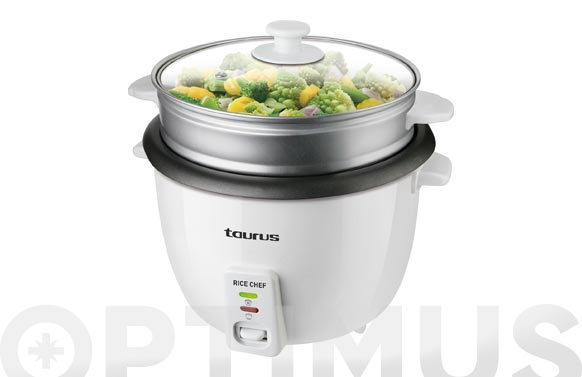 Cocedor de arroz 1,8 l rice chef 10t