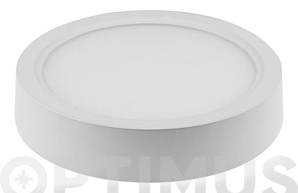 Downlight superficie redondo led 20w luz blanca (4000k)