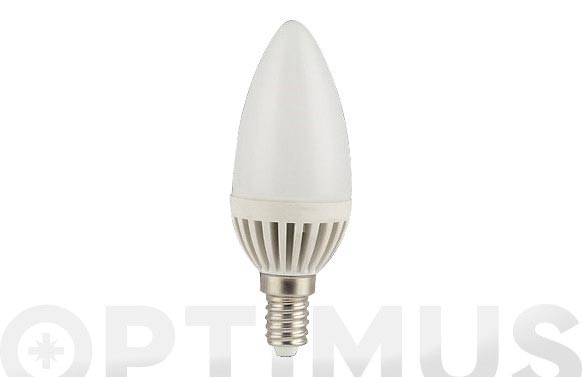 Lampara vela smd 5w 450lm e14 luz calida