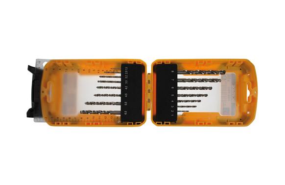 Brocas para metal hss pro 16 piezas ø 1 a 8 mm