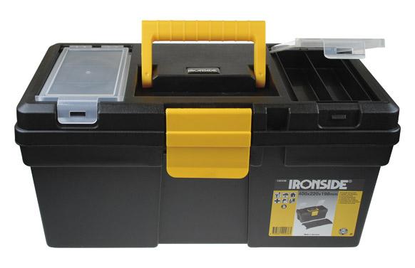 "Caja herramientas abs negro ""tool box s"" 400 x 220 x 198 mm"