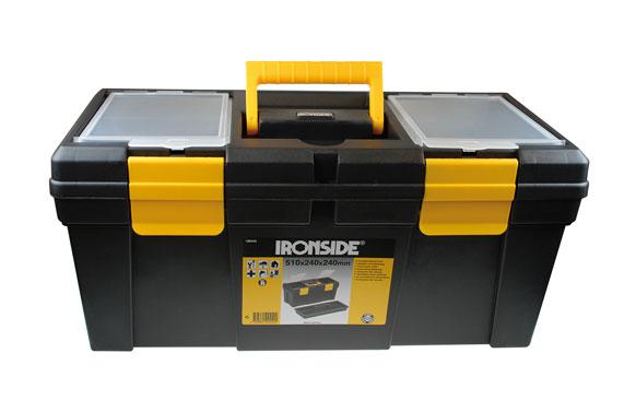 "Caja herramientas abs negro ""tool box m"" 510 x 240 x 240 mm"