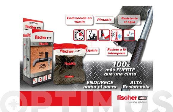 Cinta reparadora fibra vidrio fiberfix 50 mm x1,30 m
