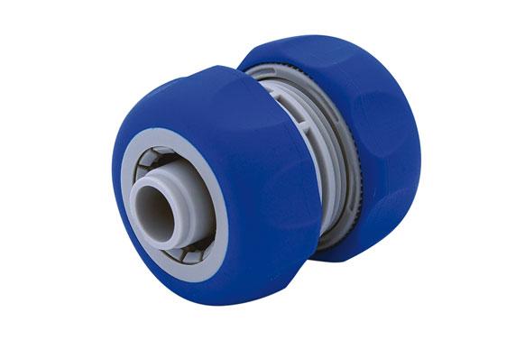 Reparador de manguera 15 mm. 1/2'' bicomponente: acetal (pom) y caucho