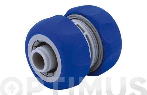 Reparador de manguera 19 mm. 3/4'' bicomponente: acetal (pom) y caucho