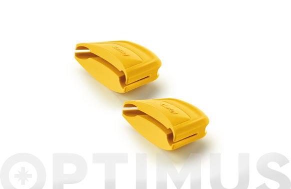 Asas protectoras silicona 2uds 28-32cm amarillas