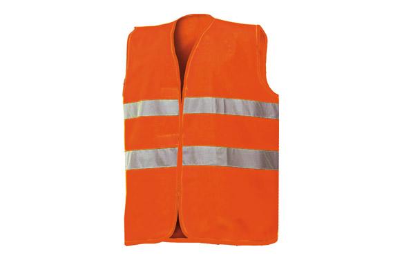Chaleco alta visibilidad t xl naranja
