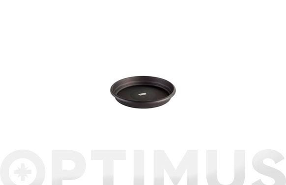 Plato redondo terra - antracita ø30cm (p/35cm)