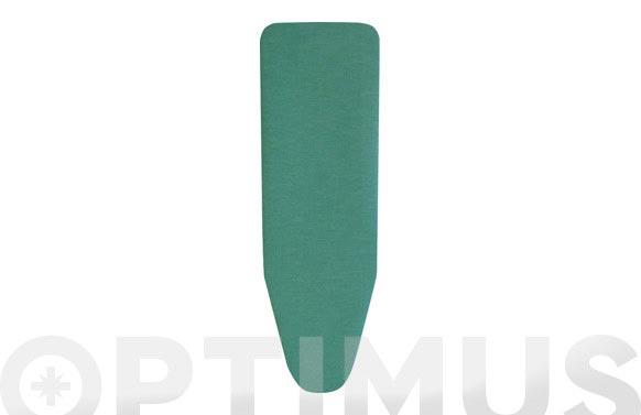 Funda mesa planchar natural verde 125 x 44 cm