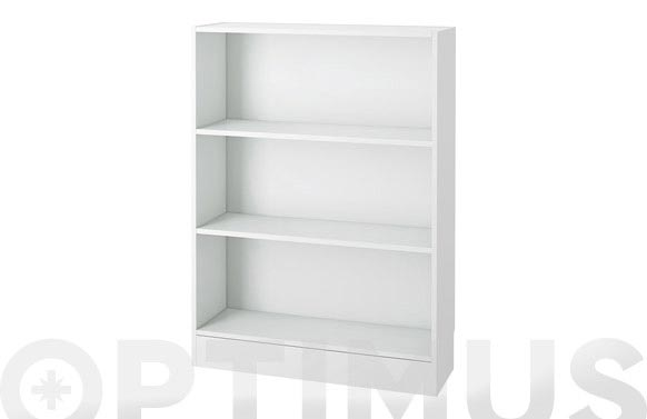 Estanteria basic blanco 107 x 79 x 27cm