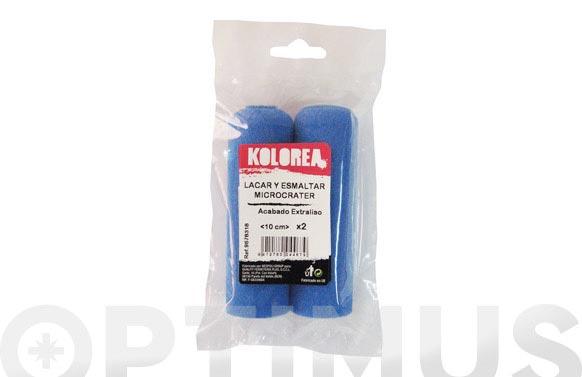 Mini rodillo recambio microcrater 2 uds 10 cm