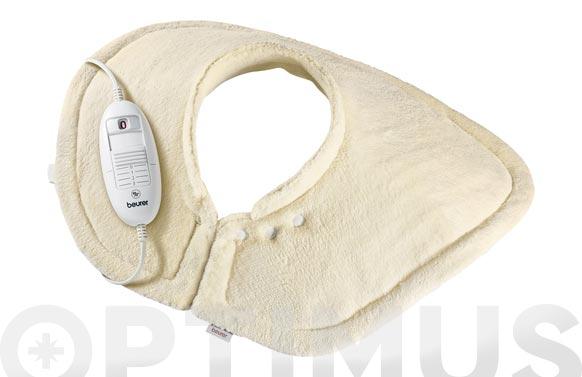 Almohadilla cervical/hombros felpa 56x52