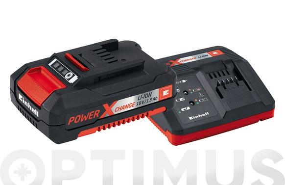 Cargador + bateria power-x 18v 1.5ah