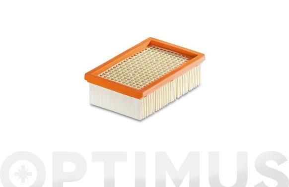 Filtro plano papel plegado aspirador mv4/mv5/mv6