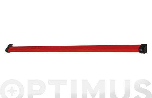 Barra antipanico lacada roja 1500 mm