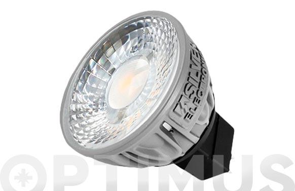 Lampara dicroica ledpro 400lm gu5,3 5w luz calida (3000k)