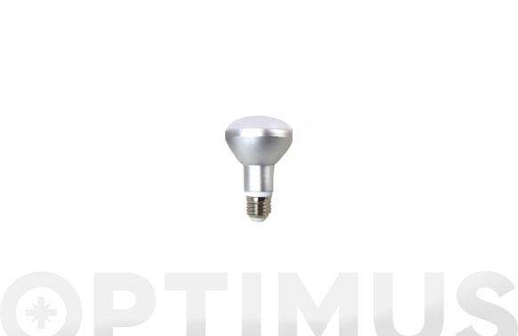 Lampara reflectora led 680lm r63 8w luz calida (3000k)