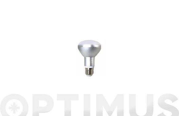 Lampara reflectora led 680lm r63 8w luz calida (3000k)
