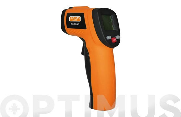 Termometro infrarrojos puntero laser rango de medición: -50. +550. c