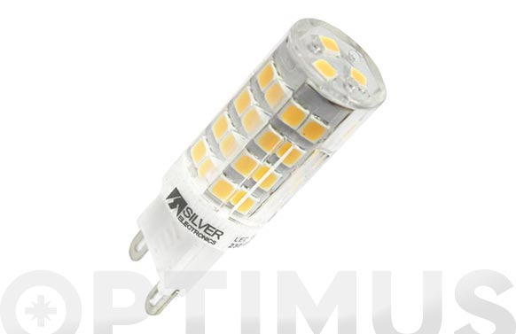 Lampara led g9 cri80 3,5w g9 luz calida (3000k)