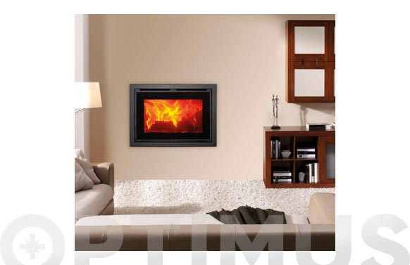 Insert leña doble combustion c-720-s 11-14 kw con toma aire exterior ecodesign2022