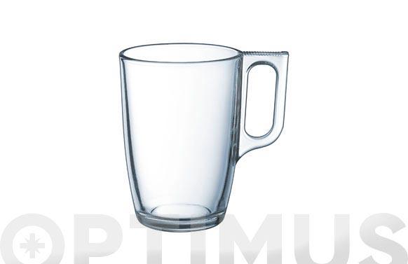 Mug vidrio nuevo 32cl