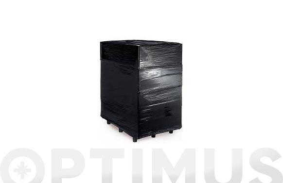 Film extensible manual negro 30 micras 50 cm 2,2 kg
