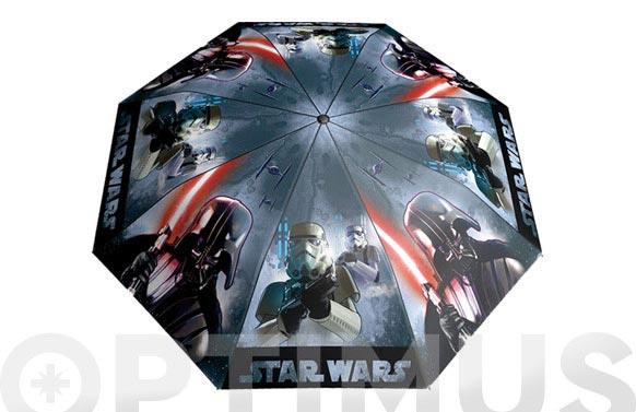Paraguas infantil manual star wars