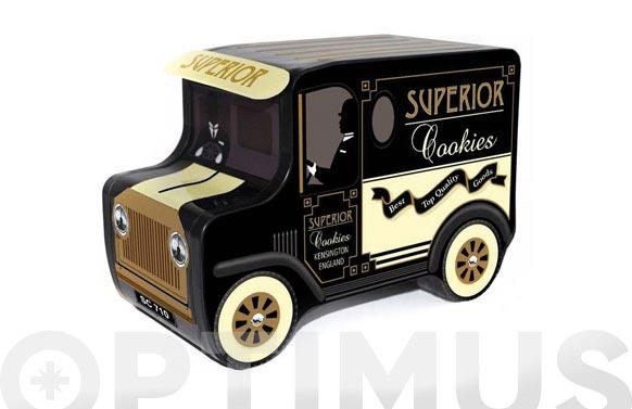 Caja metalica furgoneta galletas