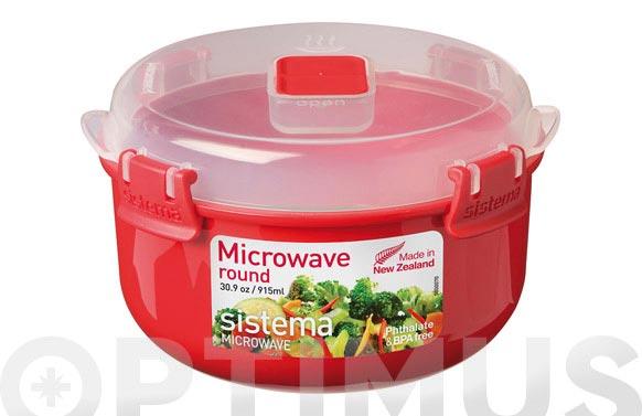 Hermetico redondo microondas 1113-915 ml