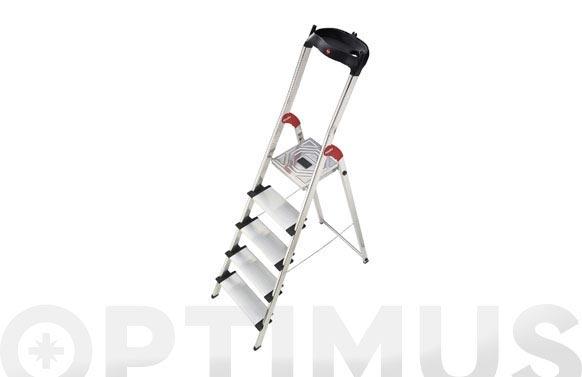 Escalera aluminio domestica xxl easyclix 4 peldaños