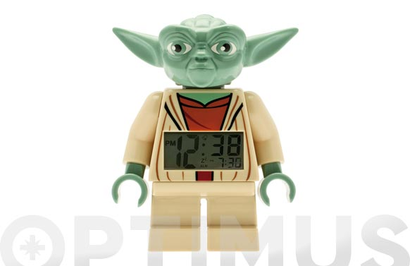 Reloj digital lego star wars yoda