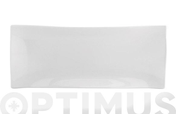 Plato porcelana gastro bocata 29,5x11 cm